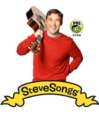 Steve with logos